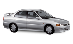 Mitsubishi Lancer VI правый руль 1991 — 2000
