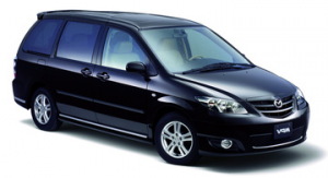 Mazda MPV II (LW) правый руль компактвэн рестайлинг 2003 — 2006