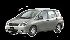Toyota Corolla Spacio II правый руль 2001 — 2007