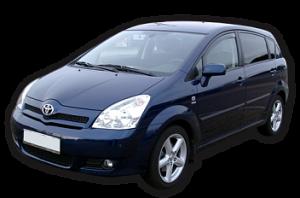Toyota Corolla Verso I 5 мест 2001 — 2004