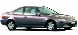 Honda Civic V купе 1991 — 1997