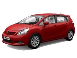 Toyota Verso I 5 мест 2009 — 2012
