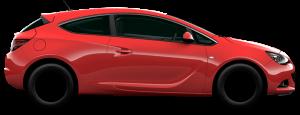 Opel Astra J GTC 2010 — н.в.