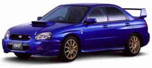 Subaru Impreza II правый руль рестайлинг 2002 — 2005