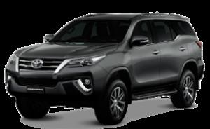 Toyota Fortuner кроссовер 5 мест 2005 — 2015