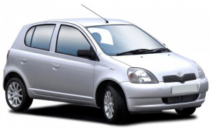 Toyota Vitz правый руль 1999 – 2005
