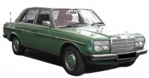 Mercedes-Benz (W123) Coupe 1976 — 1985